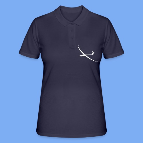 JS3 18m Segelflugzeug Segelflieger Flieschen Bekleidung Shop T-Shirt Geschenkidee - Frauen Polo Shirt