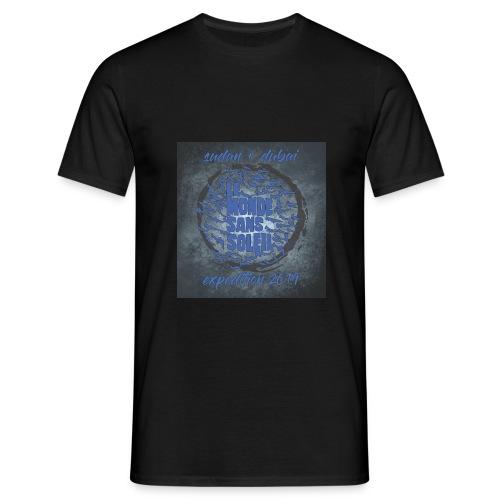 Sudan Fondo Grunge - Camiseta hombre