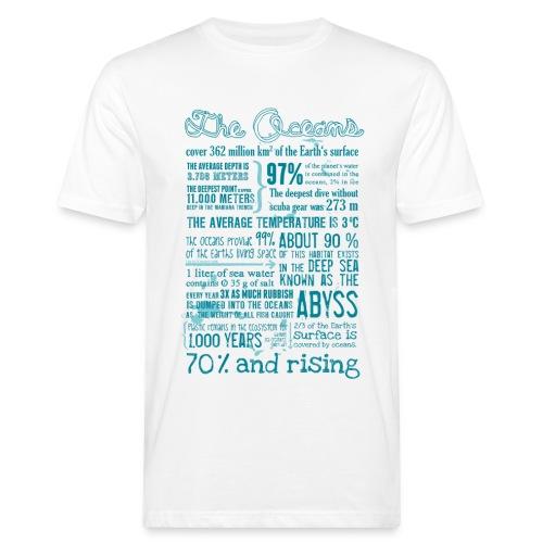 Ocean Facts 2018 (Men - Bio) - Männer Bio-T-Shirt