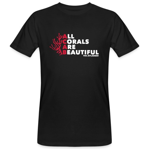 All Corals Are Beautiful (Men) - Männer Bio-T-Shirt
