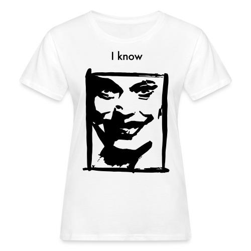 I know, Ws Organic T-Shirt, 1 Color - Frauen Bio-T-Shirt