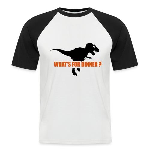 Camiseta ñam ñam - Camiseta béisbol manga corta hombre