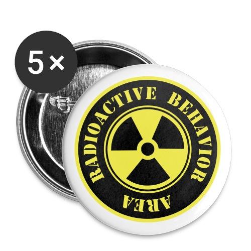 Radioactive Behaviour  - Paquete de 5 chapas medianas (32 mm)