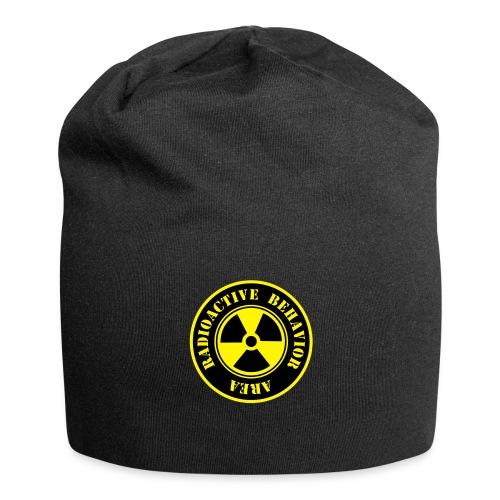 Radioactive Behaviour Beanie - Gorro holgado de tela de jersey