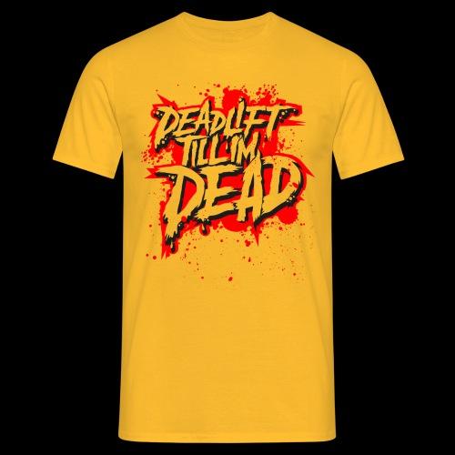 Hogan Yellow - DTID SPLAT - Men's T-Shirt