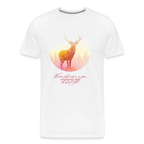 Deer mannen premium - Mannen Premium T-shirt