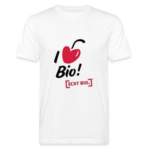 I love Bio! - Männer Bio-T-Shirt