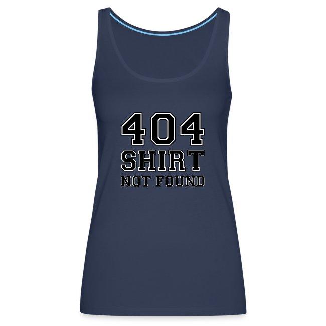 404 vrouwen tanktop