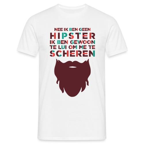 Hipster mannen t-shirt - Mannen T-shirt