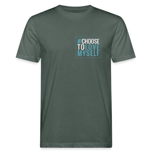 #ichoosetlovemyself Bio Tshirt Man - Männer Bio-T-Shirt