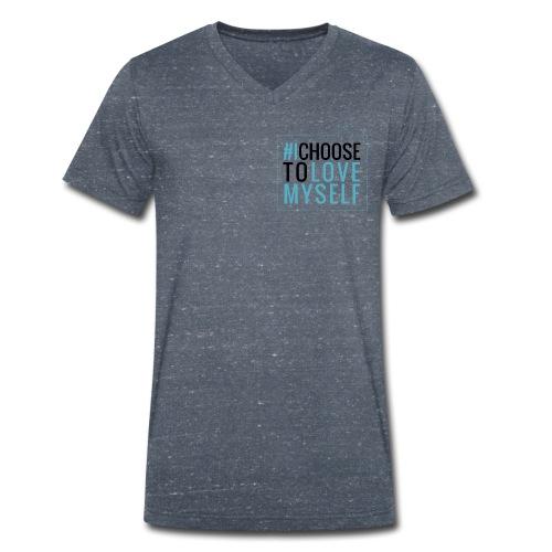 #ichoosetlovemyself Bio Tshirt Man - Männer Bio-T-Shirt mit V-Ausschnitt von Stanley & Stella