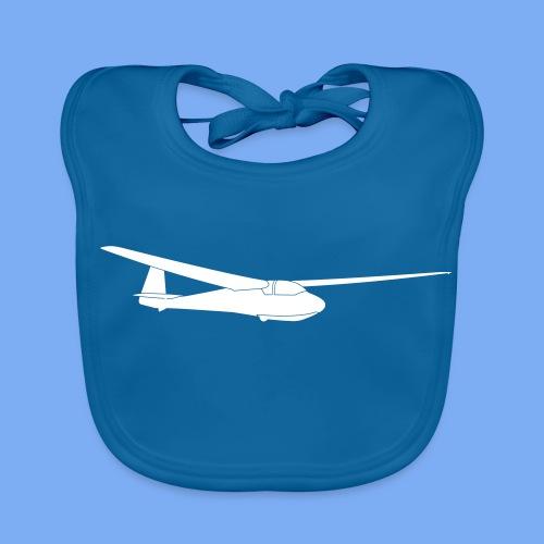 ka2b Segelflugzeug Segelflieger Flieschen Bekleidung Shop T-Shirt Geschenkidee - Baby Organic Bib