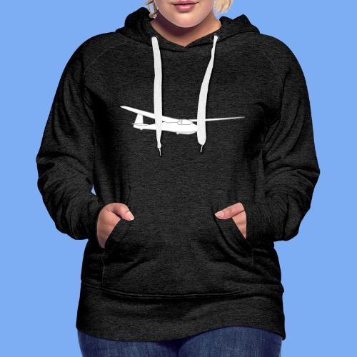 ka2b Segelflugzeug Segelflieger Flieschen Bekleidung Shop T-Shirt Geschenkidee - Women's Premium Hoodie