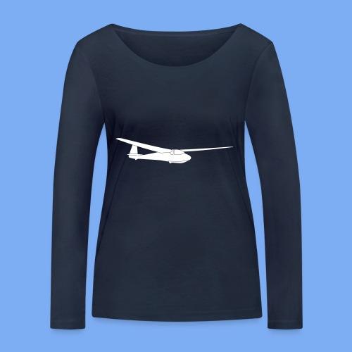 ka2b Segelflugzeug Segelflieger Flieschen Bekleidung Shop T-Shirt Geschenkidee - Women's Organic Longsleeve Shirt by Stanley & Stella