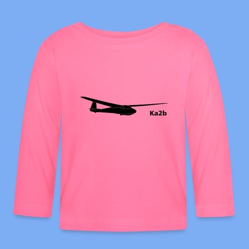ka2b Segelflugzeug Segelflieger Flieschen Bekleidung Shop T-Shirt Geschenkidee - Baby Long Sleeve T-Shirt