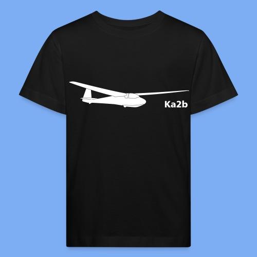 ka2b Segelflugzeug Segelflieger Flieschen Bekleidung Shop T-Shirt Geschenkidee - Kids' Organic T-Shirt