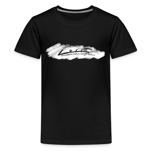 T-Shirt LILLE scratched/ TEENS by LILLEJO (2019) - Teenager Premium T-Shirt