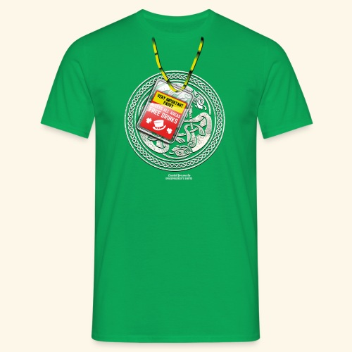 St. Patrick's Day T Shirt Very Important Paddy - Männer T-Shirt
