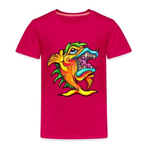 Rock and Roll Singing Fish - Kids' Premium T-Shirt