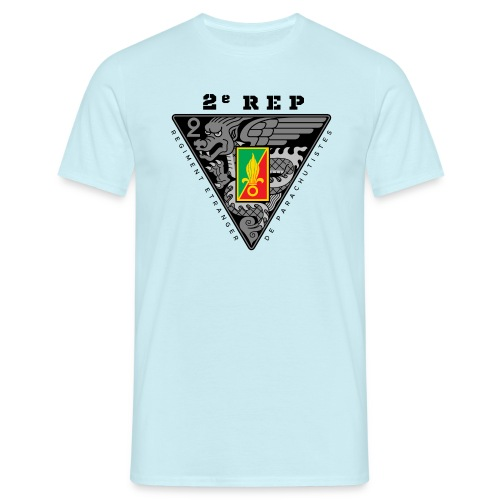2e REP Badge - Foreign Legion - Dark - T-Shirt - Men's T-Shirt