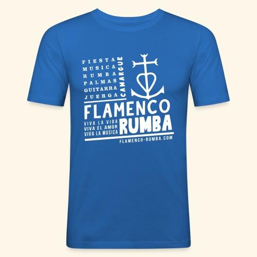 Camargue - Flamenco Rumba - T-shirt près du corps Homme
