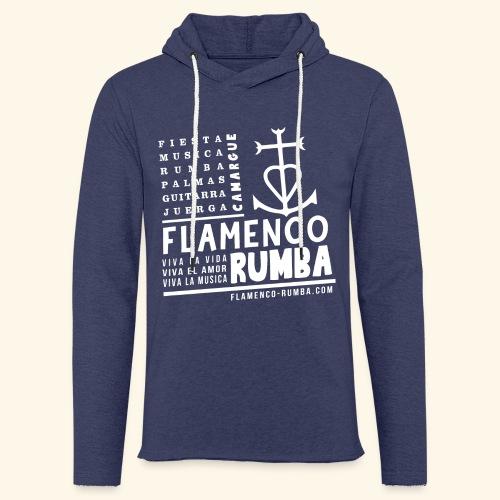 Capuche - Camargue - Flamenco Rumba - Sweat-shirt à capuche léger unisexe