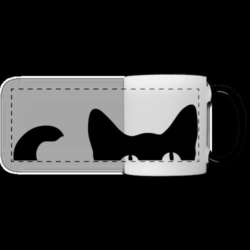 Katze - Panoramatasse