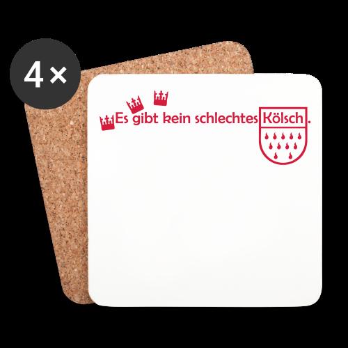 Kölsch - Untersetzer (4er-Set)