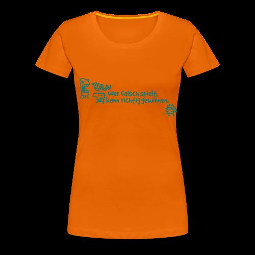 Spielen - Frauen Premium T-Shirt