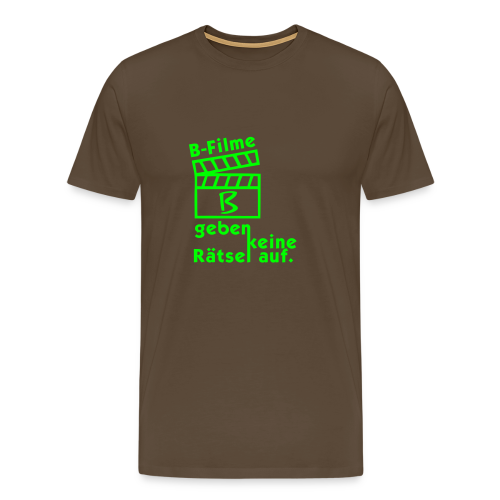 B-Filme - Männer Premium T-Shirt