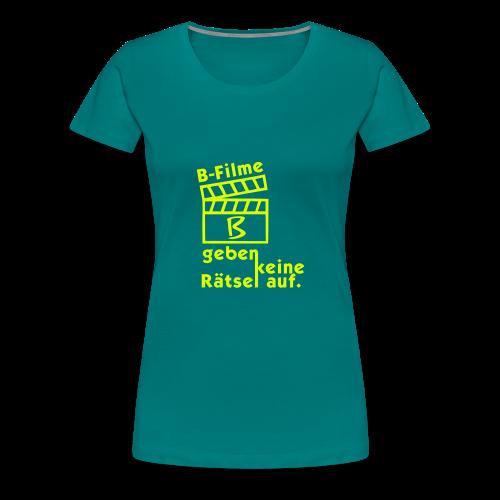 B-Filme - Frauen Premium T-Shirt