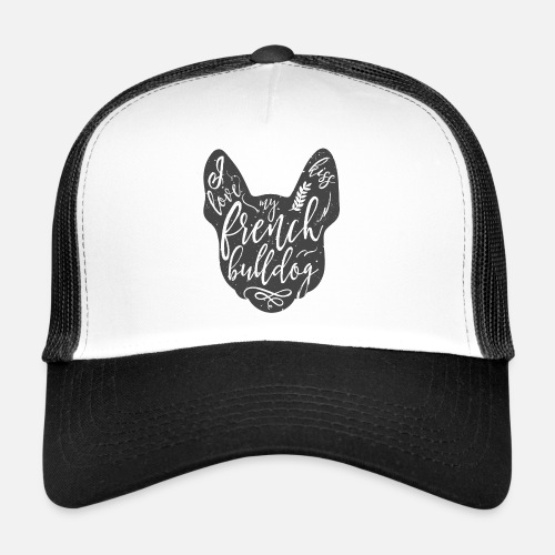 I love my French Bulldog - Trucker Cap