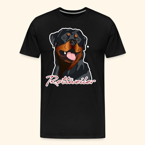 Rottweiler Test - Männer Premium T-Shirt