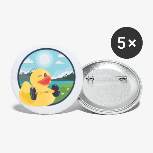Happy Butttons - Buttons klein 25 mm (5er Pack)