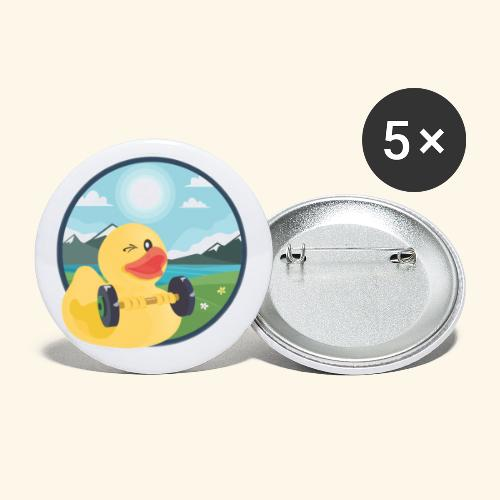 Happy Buttons - Buttons small 1''/25 mm (5-pack)