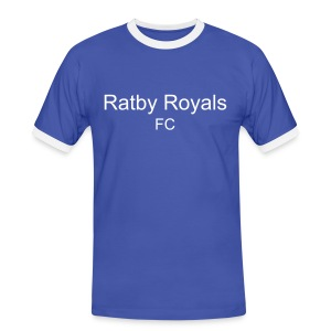 Ratby Royals Plain T - Men's Ringer Shirt