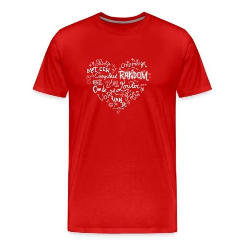 Hart mannen premium - Mannen Premium T-shirt