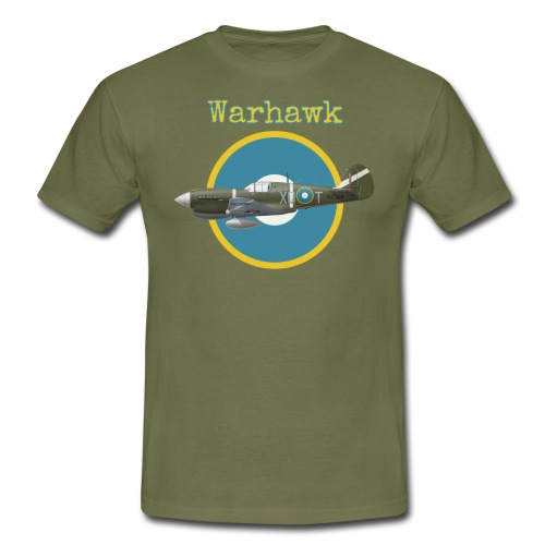 P-40 Warhawk RNZAF - Men's T-Shirt