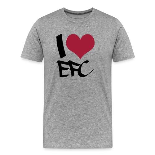 T-Shirt Männer I love EFC - Männer Premium T-Shirt