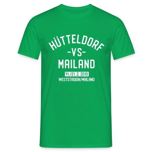 Hütteldorf VS Mailand Februar 2019 Herrenshirt - Männer T-Shirt