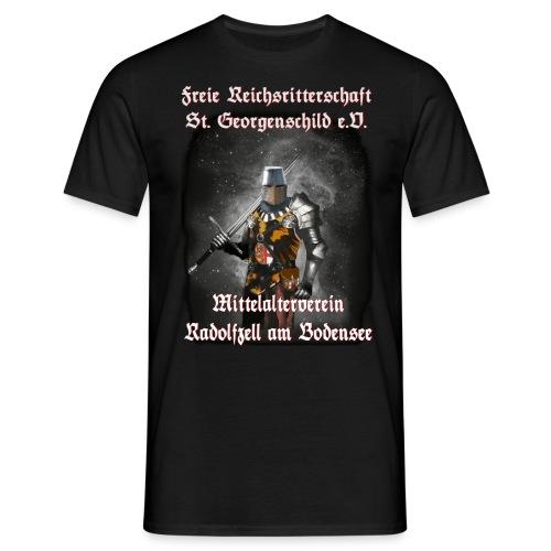 Hegauritter Logo Ritter Gross 2019 - Männer T-Shirt