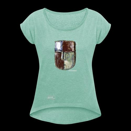 Aduma Green Mask ( F ) - T-shirt à manches retroussées Femme