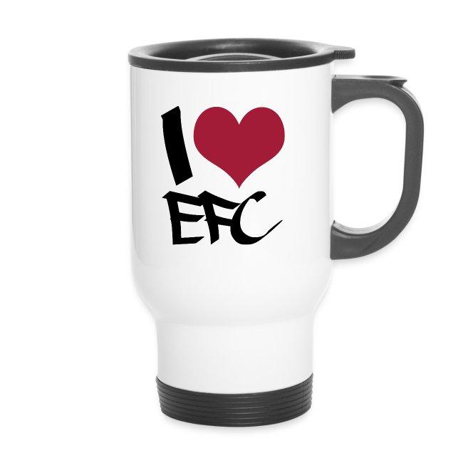"Thermobecher ""I love EFC"""