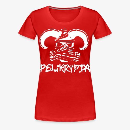 Pelikrypta T-Paita Naisten - Naisten premium t-paita