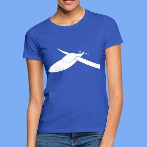 3D Effekt Segelflugzeug Segelflieger Geschenk Tshirt - Women's T-Shirt