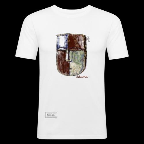 Aduma White Mask (M) - T-shirt près du corps Homme
