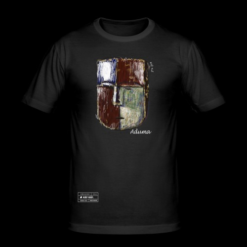 Aduma Black Mask (M) - T-shirt près du corps Homme