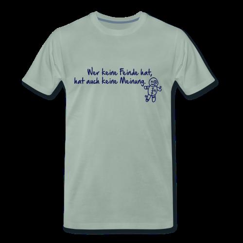 Feinde - Männer Premium T-Shirt