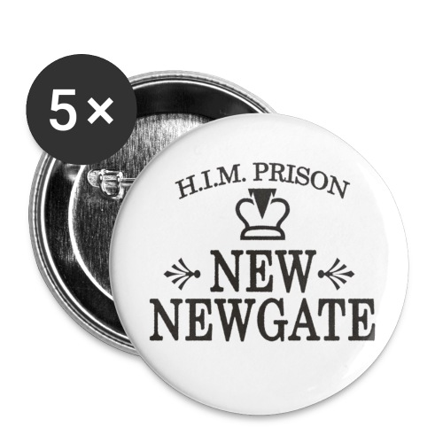 New Newgate - Badges - Buttons large 2.2''/56 mm (5-pack)