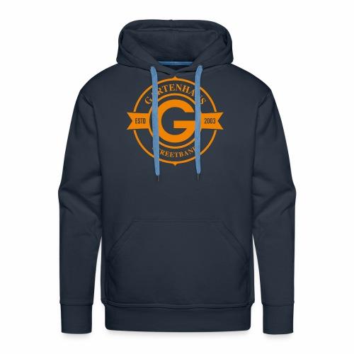 Gartenhaus Hoodie Men / oranges Logo - Männer Premium Hoodie